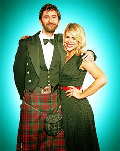 David Tennant + Billie Piper