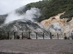 St. Lucia - the only drive-thru volcano in the world!  (sulfur smell is really bad!)