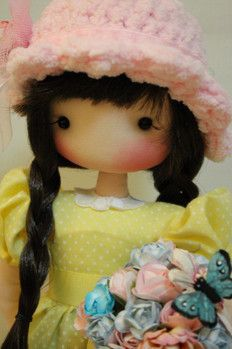 HISTORIA DE FIDELINA - fidelina muñecas con corazon