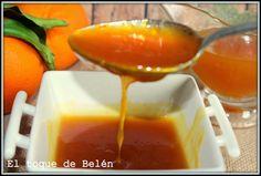 Salsa  De Naranja  Picante Y Dulce  Al Jengibre Y Lomo Con Salsa De Naranja