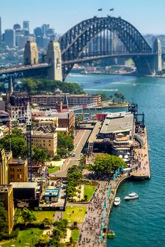 Circular Quay, the hub of Sydney Harbour, is situated in a small inlet called Sydney Cove, founding site for Australia