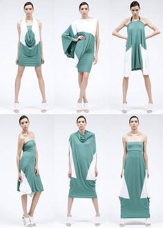 ABITO SU E GIU up and down dress :: lemuria style