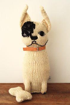 Severina Kids NEW White Boston Terrier te koop, geen patroon Knitting Projects, Knitting Patterns, Sewing Projects, Boston Terrier Love, Boston Terriers, Textiles, Crochet Toys, Knit Crochet, Knitted Animals