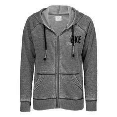 BKE Lounge Burnout Sweatshirt via Polyvore