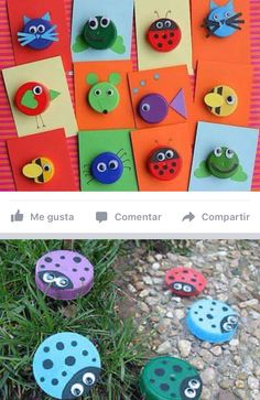 70 Creative sea animal crafts for kids (Ocean creatures) - Craftionary Diy Crafts For Girls, Diy Arts And Crafts, Diy For Kids, Fun Crafts, Sea Animal Crafts, Animal Crafts For Kids, Toddler Crafts, Handmade Greeting Card Designs, Egg Carton Crafts
