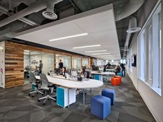 Best open plan offices images in open