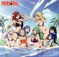 Fairy Tail Girls, Fairytail, Anime, Fairies, Faeries, Fairy Tales,  Fairytale, Anime Shows, Fairy Art