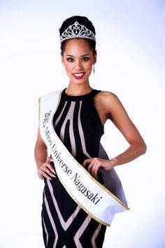 """Miyamoto Eriana is the First Afro Asian to be Crowned Miss Japan - The reigning queen will go forth as the first Afro Asian representative of the country in the Miss Universe pageant. Eriana was born to a black American father and a Japanese mother in Nagasaki. Nervous about how this would be received, she even voiced her apprehensiveness on acceptance as a contestant in the pageant:  """"I thought 'I wonder if a hafu like me would be okay' and had insecurities."""""""