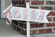 The Happy Scraps: It's A Girl Baby Shower