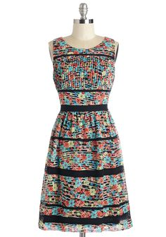 Meant Fleur Me Dress. Dreams last so long - especially when youre clad in this enchanting floral frock. #multi #modcloth