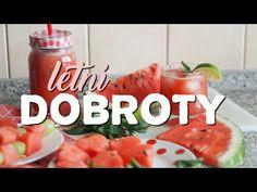 DIY LETNÍ DOBROTY | SUMMER FOOD INSPIRATION | BLUEBERRY PINK - YouTube Summer Food, Summer Recipes, Food Inspiration, Blueberry, Salsa, Chicken, Youtube, Pink, Berry