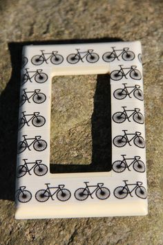DIY Washi Tape Projects: light switch cover.  ordinary-creative.com