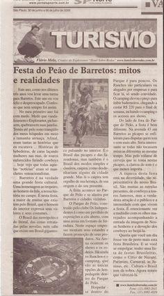Festa do Peão de Barretos: mitos e verdades – Publicado em 06 de julho de 2006