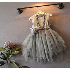 84391801ea5 Amazon.com  Baby Girls Kids Princess Wedding Party Pageant Irregular Hem  Tulle Tutu Dresses