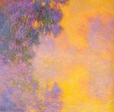 "fogrest: ""Claude Monet (1840 - 1926) ""Misty Morning on the Seine, Sunrise"" 1892 """