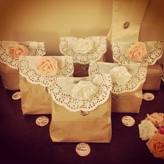 Goodie bags, hen do survival kit ;)