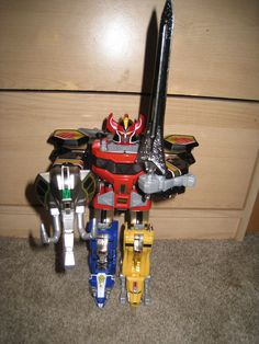 Power Rangers Megazord toy