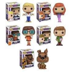 Get the original ghostbusters with the Scooby-Doo Pop! Long before proton packs and containment units, this group of meddlesome kids and their Disney Pop, Funko Figures, Vinyl Figures, Funko Pop Display, Funko Pop Anime, Funko Pop Dolls, Pop Figurine, Pop Toys, Pop Characters