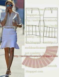 Moldes moda