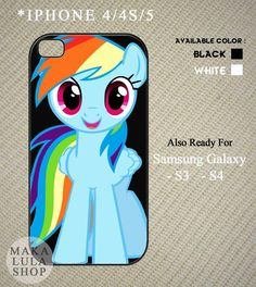 Cute Rainbow Dash My Little Pony case for