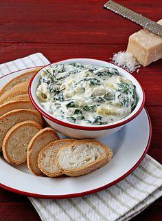 Slow-Cooker White Truffle Artichoke Dip | Udi's® Gluten Free Bread