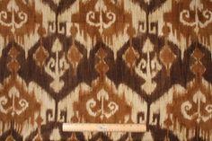 Ikat Pattern Fabric - FabricGuru.com: Discount and Wholesale Fabric, Upholstery Fabric, Drapery Fabric, Fabric Remnants