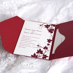 cheap pocket wedding invitations australia – Wedding Tips Wedding Invitations Australia, Burgundy Wedding Invitations, Affordable Wedding Invitations, Pocket Wedding Invitations, Popular Wedding Colors, Fall Wedding Colors, Wedding Color Schemes, Autumn Wedding, Cranberry Wedding Colors