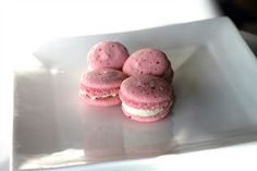 The Sweet Art: Pink Peppercorn & Pink Grapefruit Macarons