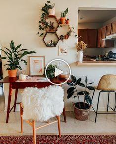 Room Inspiration, Decor, Aesthetic Rooms, Room With Plants, Room Decor Bedroom, Aesthetic Room Decor, Room Ideas Bedroom, Bedroom Design, Boho Living Room