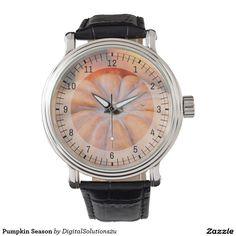 Pumpkin Season Wrist Watches