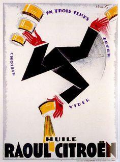 1925 - Les Belles Affiches, Paris 119 cm x 159 cm Illustrateur : Charles Loupot (1892-1962).