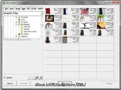 DesignaKnit 8 Graphics Studio Tutorial - Convert A Magazine Chart Into A Stitch Pattern