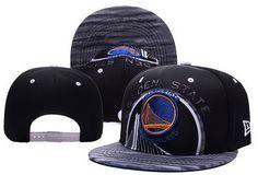 NBA Golden State Warriors Snapback Black3