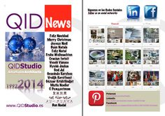 QIDNews. Decembre 2013 QIDStudio. Artur Fuster Architects Catalog, Merry Christmas, Socialism, Social Networks, Xmas, Merry Little Christmas, Merry Christmas Love