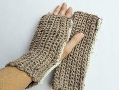 Fingerless Light Brown Gloves Fingerless Gloves, Arm Warmers, Brown, Fashion, Fingerless Mitts, Moda, Fashion Styles, Brown Colors, Fingerless Mittens