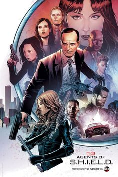 Agents of SHIELD S3 poster