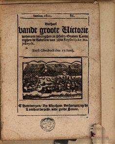 Junius 1622. 86. Verhael van de groote Victorie wederom vercreghen in Pfaltz ... - Google Books
