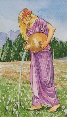 XIV. Temperance: The Sorcerers Tarot