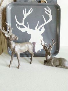#reindeer #dienblad #ikea #xmas #christmas by Aafke