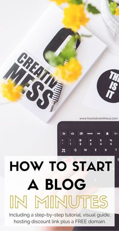 How To Start A Blog: A step-by-step tutorial, explained in detail with pictures! From hosting to installing WordPress, to fully developing and designing a money making blog! It's super easy to follow! Check it out now! www.howtoliveintheus.com