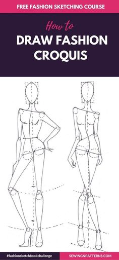 Fashion sketch like a pro with  fashionsketchbookchallenge 30 days FREE  fahion design course How to ffabb173b89