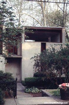 Esherick house-Chestnut Hill Pennsylvania 1960  by Louis Kahn