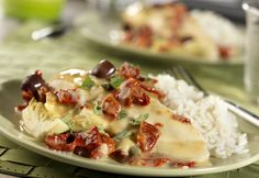 Mediterranean flavors such as sun-dried tomatoes, kalamata olives, capers, artichoke hearts, white wineand tomatoes simmer together to flavor chicken breasts in this mouthwatering slow-cooker dish.
