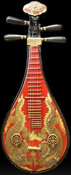 Gitarra tradicional China.