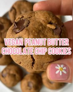 Fun Baking Recipes, Vegan Sweets, Healthy Sweets, Healthy Dessert Recipes, Vegan Snacks, Vegan Desserts, Sweet Recipes, Cookie Recipes, Vegan Recipes