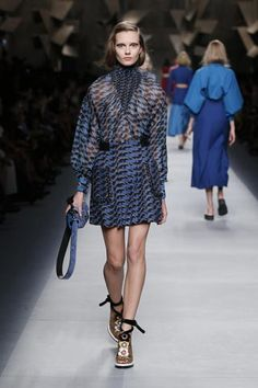 Fendi's Spring Summer 2016 Collection ~