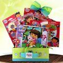 Dora the Explorer Tattoos Fun Pack Birthday Gift Basket by Gift Basket 4 Kids. $54.99. A perfect Dora get well gift basket to create memories or keep a child occupied while recovering.. Bring Dora the Explorer, her teachings and memories all to life.. All items beautifully arranged in Dora lunch/treasure box with latch. A card with your personal note will be enclosed to convey your loving thoughts.. A perfect birthday gift basket ideas to brighten Dora lovers faces. Th...