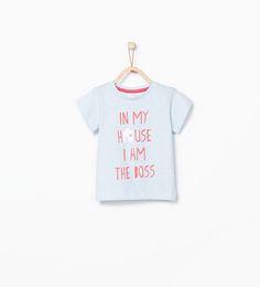 ZARA - KIDS - English text T-shirt