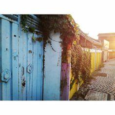 .@amor_vin   알록달록 색감 #전주 #한옥마을 #골목 #sunset   Webstagram