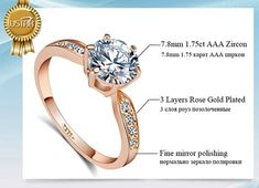 Cheap wedding rings for women, Buy Quality wedding rings directly from China brand rings for women Suppliers: AAA Zircon Engagement Rings for women Rose gold color Wedding rings female anel Austrian Crystals Jewelry top quality Cheap Wedding Rings, Wedding Rings For Women, Wedding Bands, Unique Jewelry, Jewelry Accessories, Types Of Rings, Rose Gold Color, Rose Gold Engagement Ring, Austrian Crystal